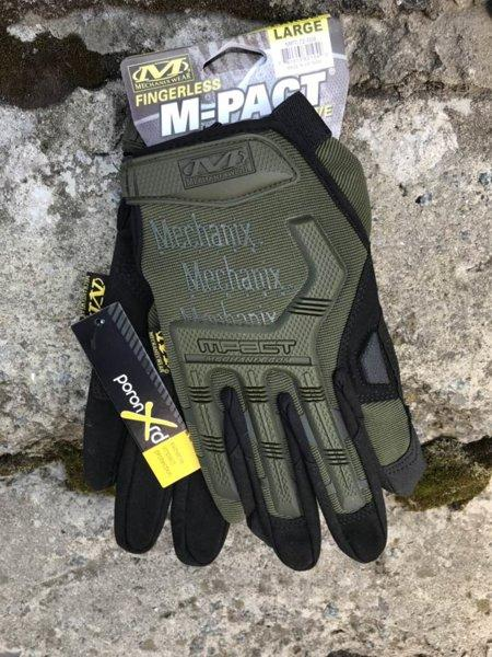 MECHANIX M-PACT COVERT GLOVES OLIVE Реплика