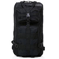 Рюкзак тактический Molle System 25 L. Black, фото 1