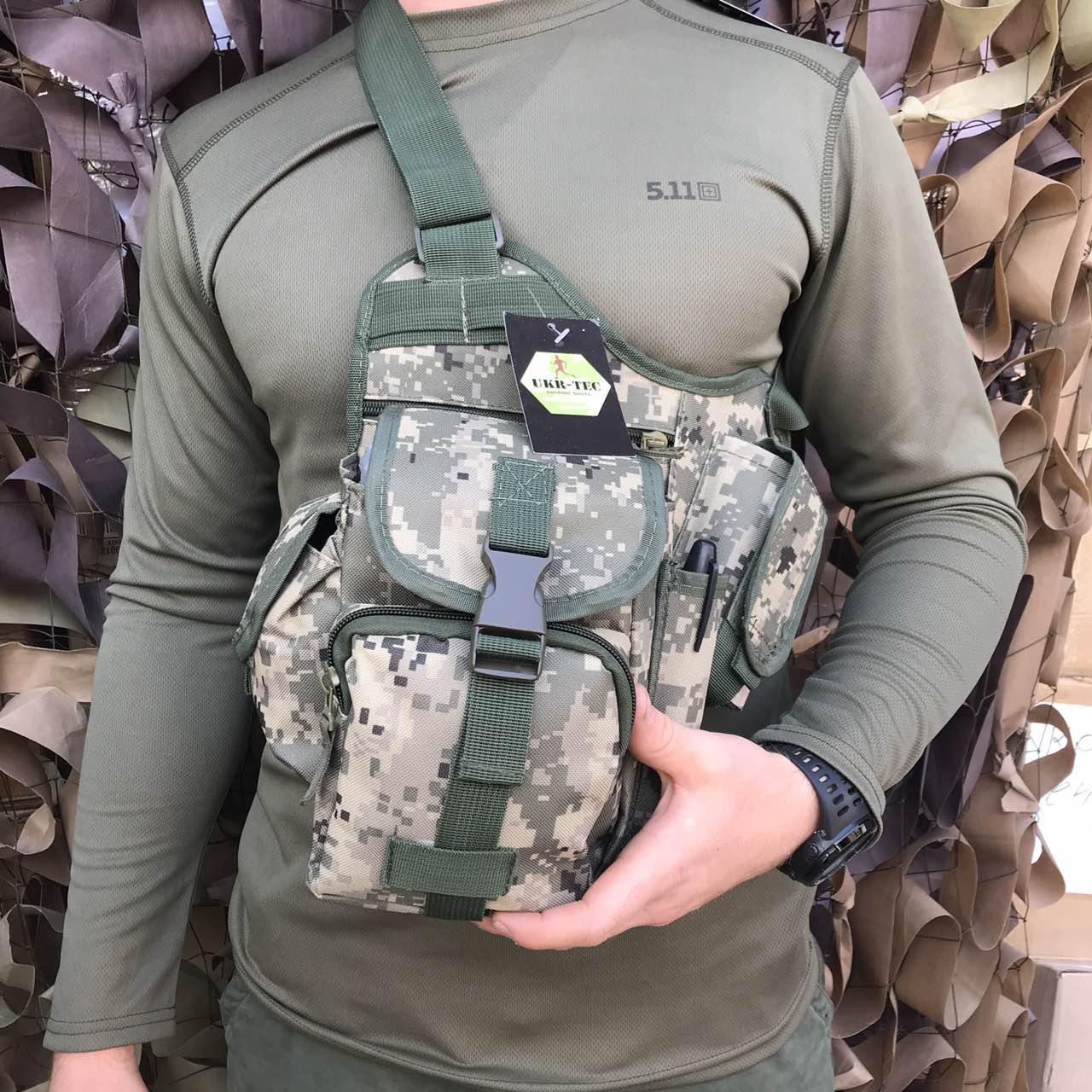 Сумка через плечо/ военная сумка ARMY UA-ІІ (310)