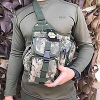Сумка через плечо/ военная сумка ARMY UA-ІІ (310), фото 1