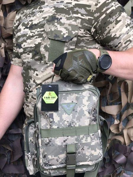 Сумка через плечо/ военная сумка ARMY UA (612)