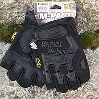 Тактические перчатки Mechanix M-Pact Fingerless Glove Black, фото 1