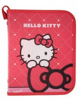 Папка объемная на молнии В5, Hello Kitty