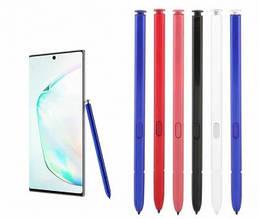 Стилус емкостный для Samsung Galaxy Note 10 N970, Note 10 Plus N975, Note 10 Lite N770 синий