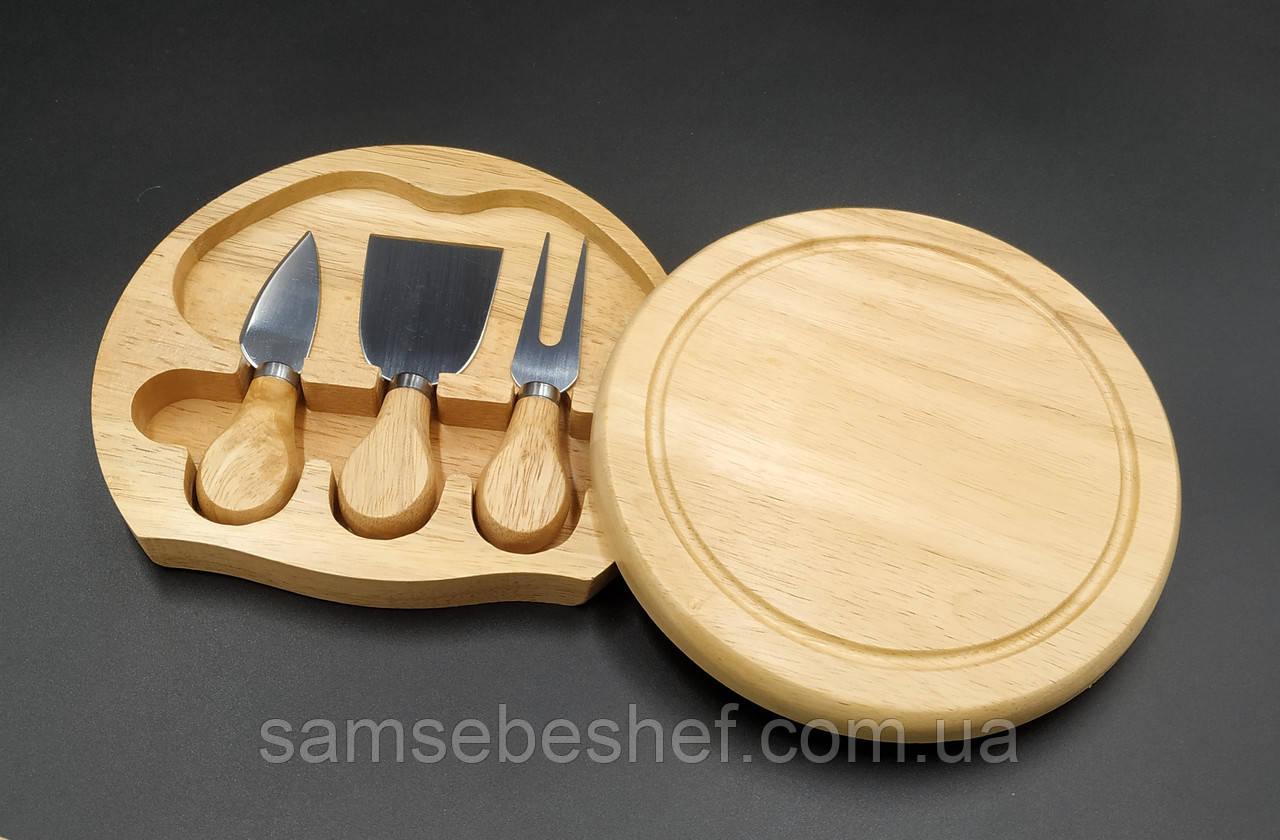 Набор ножей для сыра 4 предмета FunTree