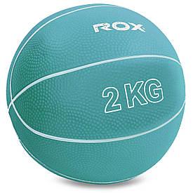 Медбол для кроссфита 2кг Record Medicine Ball SC-8407-2