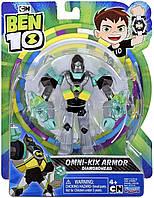 Коллекционная фигурка Алмаз Бен 10 / Ben 10 Armored Diamondhead Figure