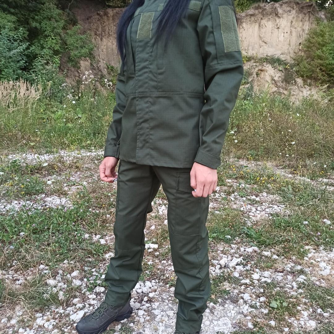 Тактический летний костюм форма рип стоп олива. Костюм для охоты и рыбалки, военный
