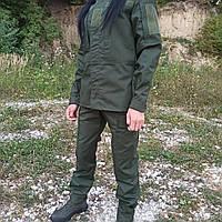 Тактический летний костюм форма рип стоп олива. Костюм для охоты и рыбалки, военный, фото 1