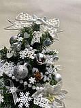 Новогодняя украшенная ёлка 40см | Эксклюзивная маленькая елка на Новый Год 2021, фото 5