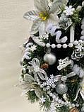 Новогодняя украшенная ёлка 40см | Эксклюзивная маленькая елка на Новый Год 2021, фото 4