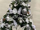 Новогодняя украшенная ёлка 40см | Эксклюзивная маленькая елка на Новый Год 2021, фото 8