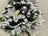 Новогодняя украшенная ёлка 40см | Эксклюзивная маленькая елка на Новый Год 2021, фото 6