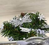 Новогодняя украшенная ёлка 40см | Эксклюзивная маленькая елка на Новый Год 2021, фото 7
