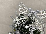 Новогодняя украшенная ёлка 40см | Эксклюзивная маленькая елка на Новый Год 2021, фото 10