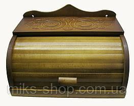 Хлібниця різьба ручної роботи на стіну, фото 3