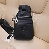 Стильный кожаный рюкзачок сумка Philipp Plein, фото 2