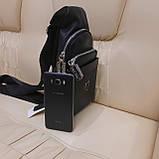 Стильный кожаный рюкзачок сумка Philipp Plein, фото 5