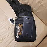 Стильный кожаный рюкзачок сумка Philipp Plein, фото 6