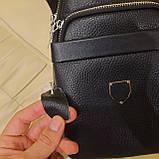 Стильный кожаный рюкзачок сумка Philipp Plein, фото 9