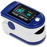 Пульсоксиметр Contec CMS50D Кольоровий OLED дисплей (23812), фото 2