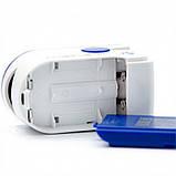 Пульсоксиметр Jellys 6.6 х 3.5 x 3.5 см Бело-синий 30 шт (hub_350ws5), фото 5