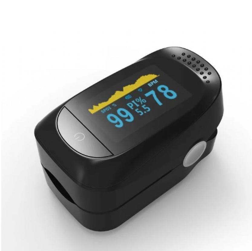 Пульсоксиметр оксиметр на палец IMDK Medical A2 прибор для измерения пульса и уровня насыщения кислорода в