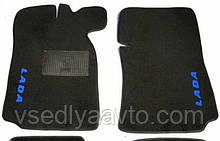 Ворсовые коврики в салон  передние ВАЗ  2101-02-03-04-05-06-07  (Жигули)