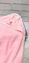 Детское полотенце уголок Мишка из микрофибры