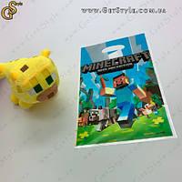 """Детеныш Оцелот из Minecraft - """"Baby Ocelot"""" - 19 см с пакетом, фото 1"""