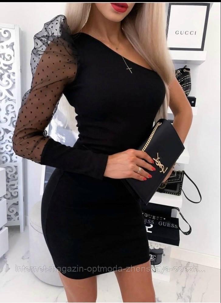 "Елегантне чорне плаття святкове ""Софина"""