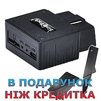 GPS GPRS трекер OBD2 для авто з функцією анти злодій