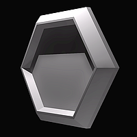 """Форма """"Стоун №3"""" для шестигранною декоративної гіпсової плитки під мох(форма для 3д панелей з абс пластику)"""