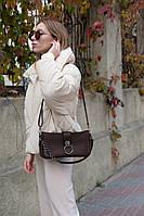 Жіноча сумка Евері екошкіра 27*16*7 см чорний
