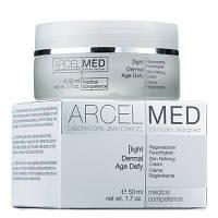 Дермальный, антивозрастной крем для лица 24 часа увлажняющий / Dermal Age Defy Light (ArcelMed), 50 мл