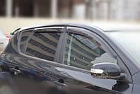 Ветровики на  Kia Ceed II Hb 3d 2012