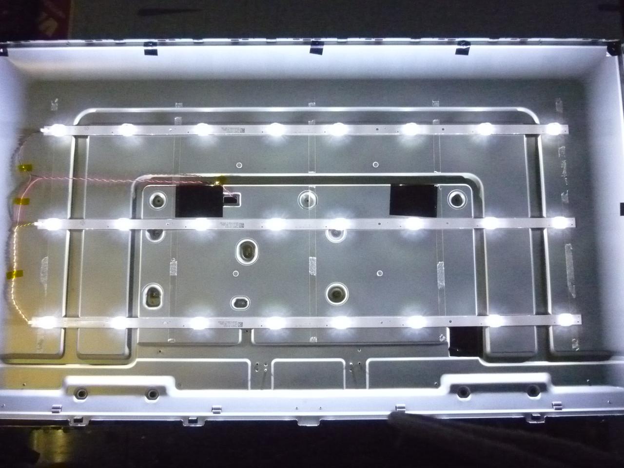 Светодиодные LED-линейки RF-FP430008SE30-0801 (матрица MODEL: TV19170101).