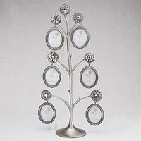 Фоторамка металлическая Семейное дерево 6 фото