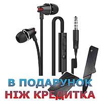 Провідна стерео гарнітура langsdom Headphon AU18 3.5 мм для мобільного телефону Samsung Lenovo Xiaomi IPhone