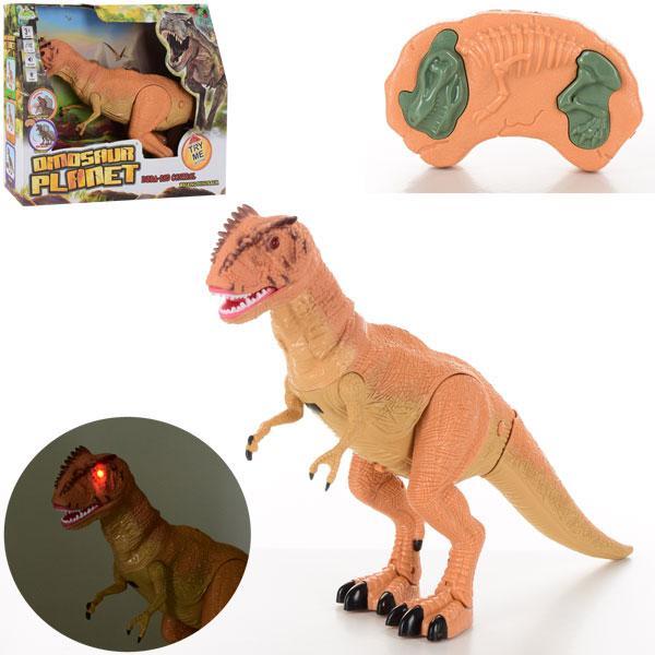 Динозавр RS6125A (24шт) д/у,49см,звук,світло,ходить,двиг.головою та челюст,на бат,в кор-ке, 36,5-31-12см
