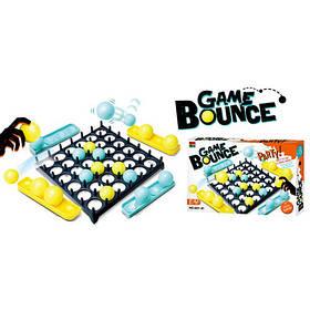 Настольная игра 007-81  Прыжок, игр.поле, шарики, в кор-ке, 33-22-4,5см