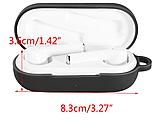 2 шт Оригинальный чехол GXTIN на кейс для Huawei FreeBuds 3i + карабин / Soft-touch /, фото 4