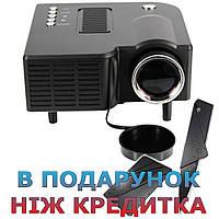 Портативний проектор UC28 + Чорний