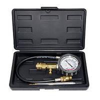 Индикатор компрессии бензинового двигателя Profi (0-21Bar, М14, М18) 3пр., в кейсе