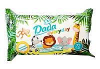 Детские влажные салфетки Sensitive Dada Everyday 72 шт