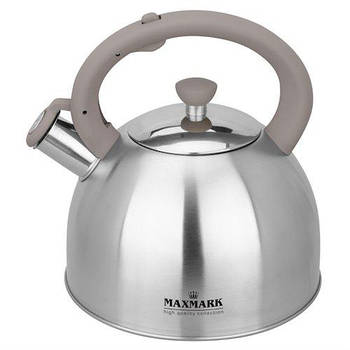Чайник для плиты MAXMARK MK-1316 (нерж., 3 л.)