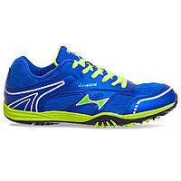 Кросівки Health 1100-2 розмір 37-45 синій-салатовий