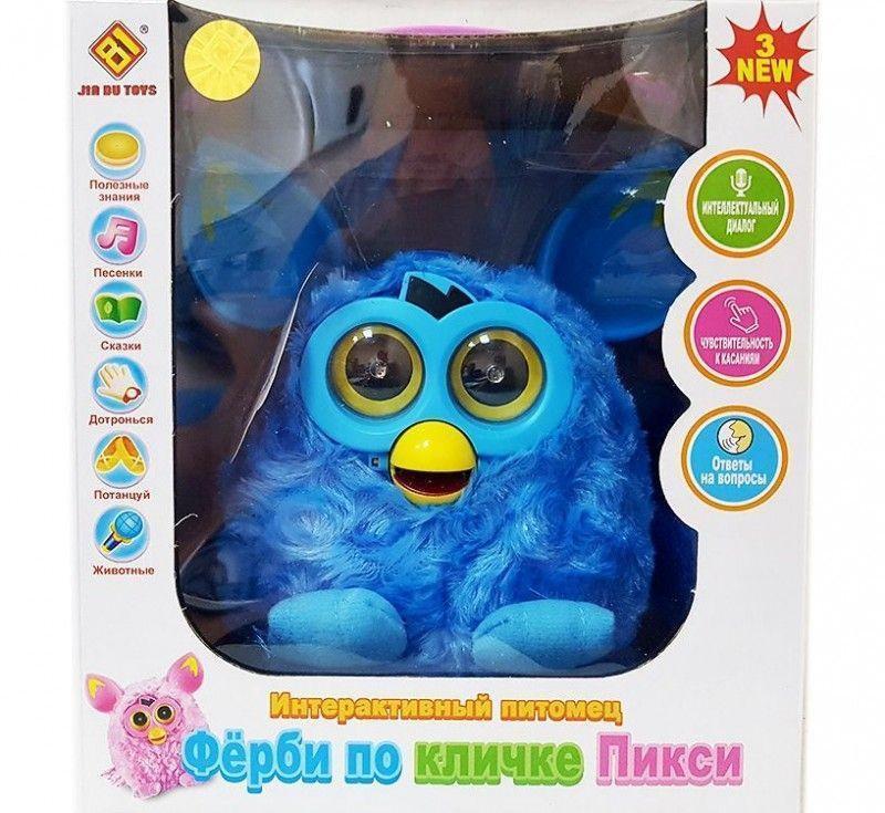 """Интерактивная игрушка """"Ферби"""" по кличке """"Пикси"""" Furby (Голубой)"""