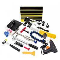 Набор инструментов для безпокрасочного удаления вмятин с термопистолетом 55пр., в сумке