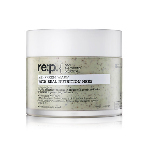 RE:P Bio Fresh MASK With Real Nutrition Herb Питательная маска, 130 г